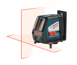 Bosch GLL2-45 - Self-Leveling Cross Line Laser Level