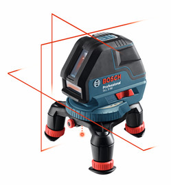 Bosch GLL3-50 - 360° Three-Plane Leveling and Alignment-Line Laser