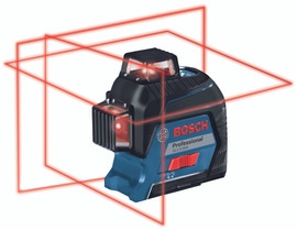 Bosch GLL3-300 - 360? Three-Plane Leveling and Alignment-Line Laser