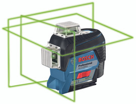 Bosch GLL3-330CG - 360? Connected Green-Beam Three-Plane Leveling and Alignment-Line Laser
