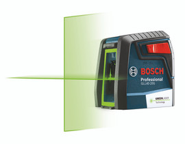 Bosch GLL40-20G - Green-Beam Self-Leveling Cross-Line Laser