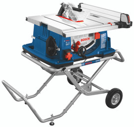 Bosch 4100-10 - 10 In. Worksite Table Saw with Gravity-Rise Wheeled Stand