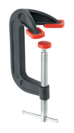 Bessey DHCC-4 - Clamp, C-Style, double jaw, 4 In. x 2-1/4 In., 1200 lb