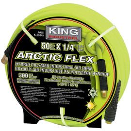 "KING K-5014H - 1/4"" X 50' HYBRID POLYMER INDUSTRIAL AIR HOSE"