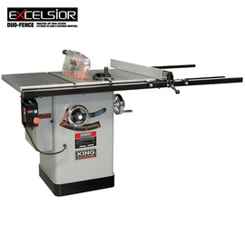 "KING KC-10KX/U50 - 10"" Cabinet table saw with 50"" max rip"