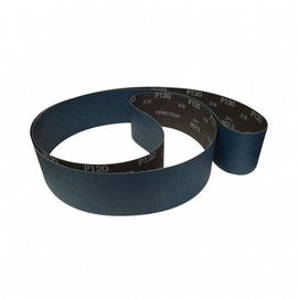 "KING SB-379-80 - 3"" X 79"" -80 GRIT PURE ZIRCONIA METAL SANDING BELT"