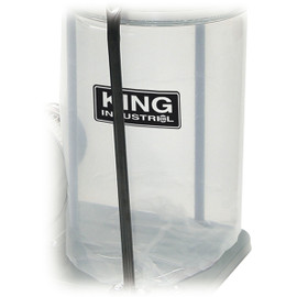 KING KDCB-3 - 3 PC. SEE THROUGH PLASTIC BOTTOM DUST BAG KIT FOR KC-2405C