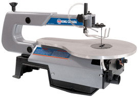 "King Canada KC-163SSC-V-6 - 16"" Variable speed scroll saw"