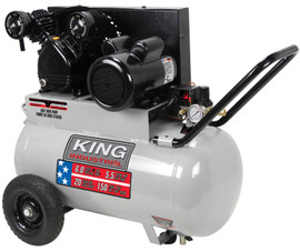 King Canada KC-2051H2 - 5.5 Peak HP 20 gallon air compressor
