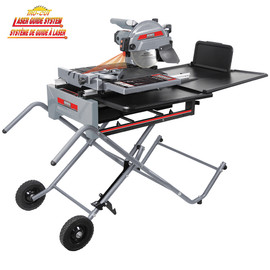 King Canada KC-3310TS - 10'' Sliding tile saw with laser guide