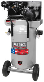 King Canada KC-3124V2 - 5.5 Peak HP 24 gallon air compressor