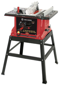 "King Canada KC-5006R - 10"" Table saw with stand"