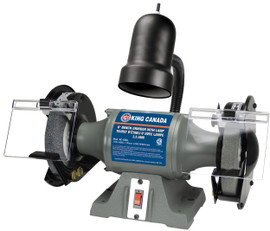 "King Canada KC-690L - 6"" Bench grinder with light"