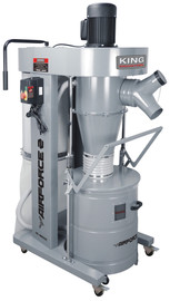 King Canada KC-8200C - 2 HP cyclone dust collector