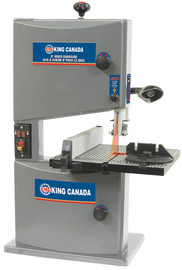 "King Canada KC-902C - 9"" Wood bandsaw with laser"