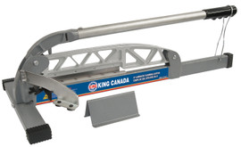 "King Canada KC-9LCT - 9"" Laminate flooring cutter"