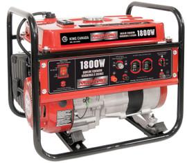 King Canada KCG-1501GX - 1800w gasoline generator