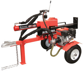 King Canada KCG-20LS - 20 Ton horizontal/vertical 6.5 hp gas log splitter