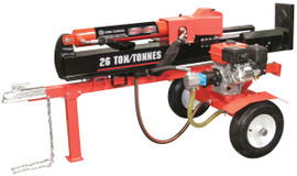 King Canada KCG-26LS - 26 Ton horizontal/vertical 6.5 hp gas log splitter