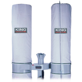 King Canada KDCB-5043T - Replacement 20 Micron upper dust bag