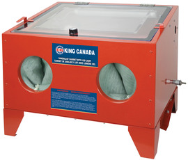 King Canada KSB-110N-LED - Sandblast cabinet with LED light