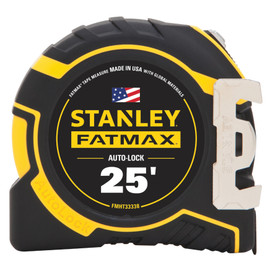 Stanley FMHT33338L - 25' Auto Lock Tape Measure