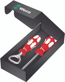 Wera 05300029001 - Limited Edition Canada Bottle Opener/#2 PH Screwdriver Set