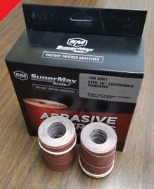 SuperMax Tools 60-6120 - Precut Abrasive Strips for 16x32, 120G 4/Pkg