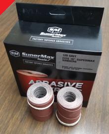 SuperMax Tools 60-6220 - Precut Abrasive Strips for 16x32, 220G 4/Pkg