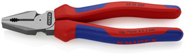 Knipex 0202200SBA - 8'' High Leverage Combination Pliers-Comfort Grip