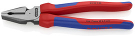 Knipex 0202225SBA - 9'' High Leverage Combination Pliers-Comfort Grip