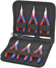 Knipex 002016 - 6 Pc Tool Set in Zipper Pouch