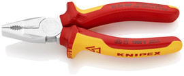 Knipex 0106160 - 6 1/4'' Combination Pliers-1,000V Insulated