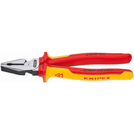 Knipex 0208225US - 9'' High Leverage Combination Pliers-1,000V Insulated