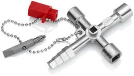 Knipex 001104 - 3 1/2'' Profi-Key Control Cabinet Key