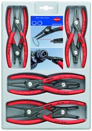 "Knipex 002004SB - 8 Pc Precision Circlip ""Snap-Ring"" Pliers Set"