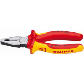 Knipex 0308160SBA - 6 1/4'' Combination Pliers-1,000V Insulated