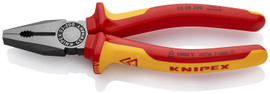 Knipex 0308200SBA - 8'' Combination Pliers-1,000V Insulated