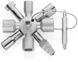 Knipex 001101 - 3 3/4'' TwinKey® Universal Control Cabinet Key