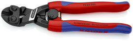 Knipex 7262200SBA - 8'' High Leverage Flush Cutter for plastic and soft metal