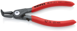 Knipex 4841J11 - 5 1/8'' Precision Circlip Pliers with Limiter-Internal 90° Angled-With Adjustable Opening