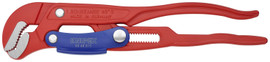 Knipex 8360010 - 13'' Swedish Pattern Pipe Wrench-S Shape Fast Adjust