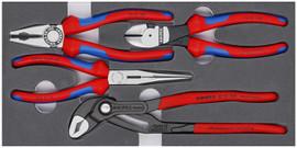 Knipex 002001V15 - Basic Pliers Set (4-Piece)