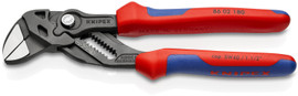 """Knipex 8602180 - 7 1/4"""" Black Pliers Wrench-Comfort Grip"""