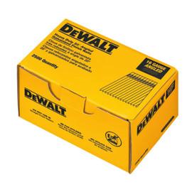 """Dewalt DCA16200 - 16 GAUGE ANGLED FINISH NAILS, 2"""" Length"""