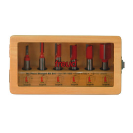 Freud 91-102 - 6 Piece Straight Bit Set