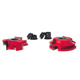 "Freud EC-261 - 2-11/16"" (Dia.) Fixed Wing 3/4"" Stock Cabinet Door Cutter Set"