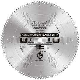 "Freud LU73M016 - 16"" Cabinetmaker's Crosscut Blade"