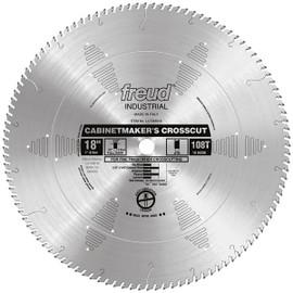 "Freud LU73M018 - 18"" Cabinetmaker's Crosscut Blade"
