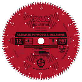 "Freud LU80R012 - 12"" Ultimate Plywood & Melamine Blade"